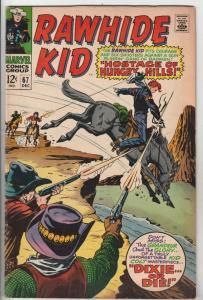 Rawhide Kid #67 (Dec-68) FN/VF+ High-Grade Rawhide Kid