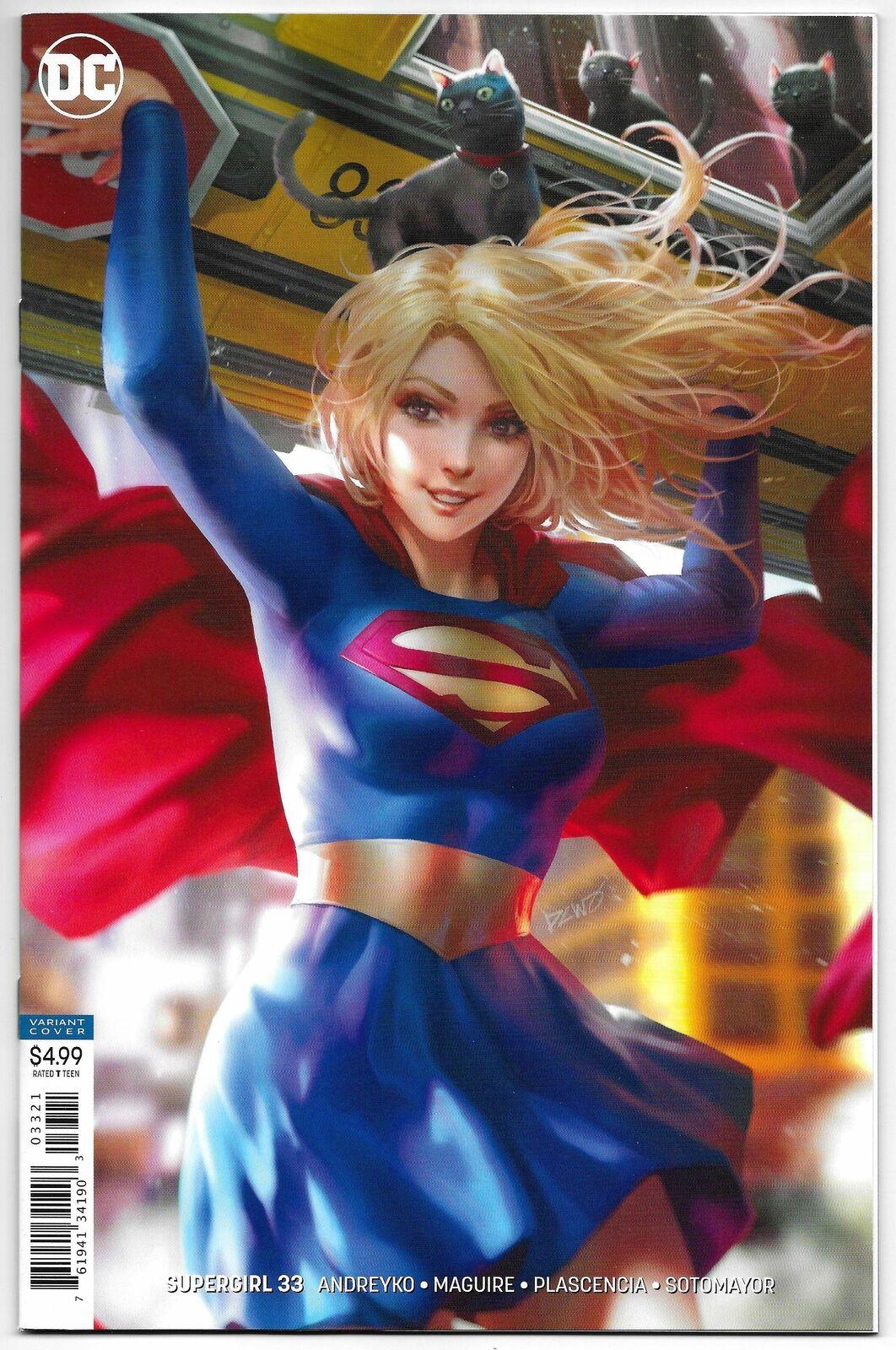 NM NEW 52 Supergirl #33 DC Comic