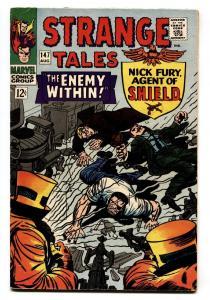STRANGE TALES #147 Nick Fury - Doctor Strange comic book - vf-