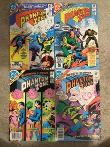 DC Superman Presents The Phantom Zone 1-4 Complete Set * 1982 *