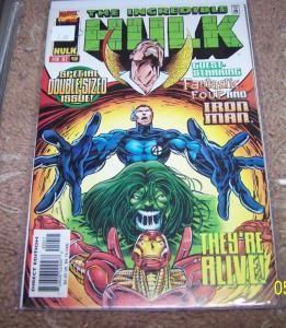 Incredible Hulk  # 450 (Feb 1997, Marvel)  onslaught versions dr strange