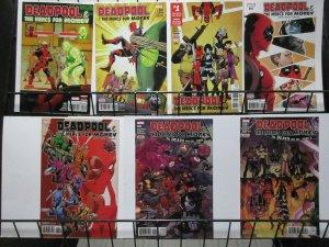 Deadpool & the Mercs for Money (Marvel v2 2016) #2-6, 9, 10 Lot