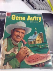 Gene Autry #79 VF Dell Golden Age Sept.1953