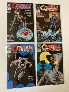 Catwoman set #1-4 8.0 VF (1989 1st series)