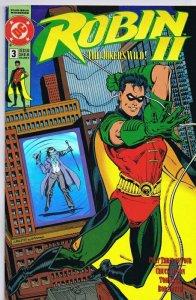Robin II The Joker's Wild ORIGINAL Vintage 1991 DC Comics w/ Hologram Cover