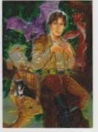 1996 Topps Finest Star Wars JACEN SOLO #40 Chromium