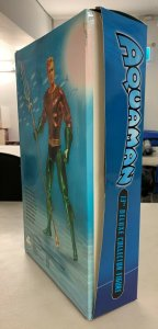 Aquaman Deluxe Collector Figure 13 DC Direct Damaged Box