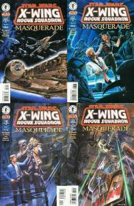 STAR WARS X WING ROGUE SQUADRON (1995 DH) 28-31