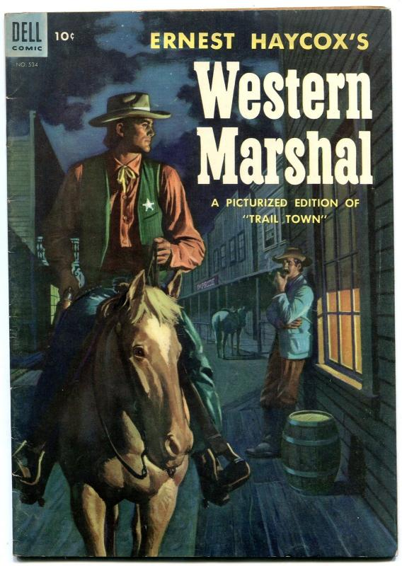 Western Marshall- Four Color Comics #534 1954- Dell Western FN+