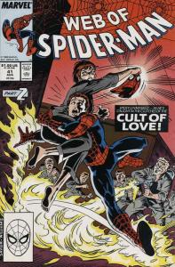 Web of Spider-Man, The #41 VF/NM; Marvel | save on shipping - details inside