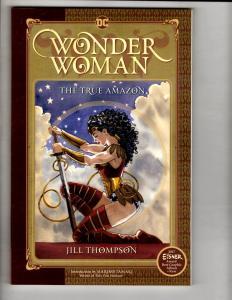 Wonder Woman The True Amazon DC Comics TPB Graphic Novel Comic Book J301
