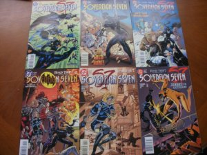 6 Near-Mint DC SOVEREIGN SEVEN (S7) #7 8 9 10 11 12 (1996) Claremont Turner Ivy