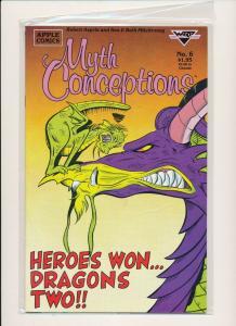 Apple Comics SET OF 8-MYTH CONCEPTIONS #1-#8  F/VF(PF853)