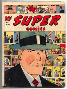 Super #60 1943- DICK TRACY COVER- incomplete