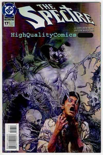 SPECTRE #17, V3, NM+, Mandrake, Zantanna, Demon, Dr Fate, more in store