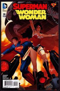 Superman/Wonder Woman #28 (New 52) The Final Days of Superman Pt 4  9.4 NM