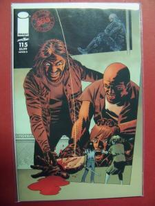 THE WALKING DEAD #115D VARIANT (9.4 or better) IMAGE COMICS