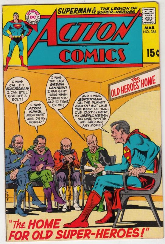 Action Comics #386 (Mar-70) NM- High-Grade Superman, Superboy