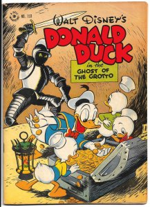 FOUR COLOR #159 Donald Duck in the Ghost of the Grotto July '47 VF All Barks!