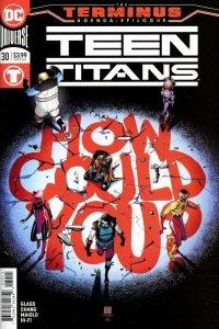 Teen Titans (2016 series) #30, NM + (Stock photo)