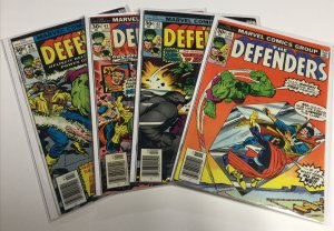 Defenders 41 42 43 44 Vf Very Fine 8.0 Marvel Comics