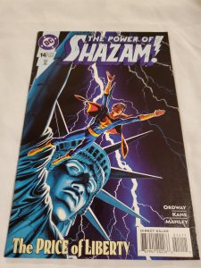 Power of Shazam 14 Very Fine+ Cover by Jerry Ordway