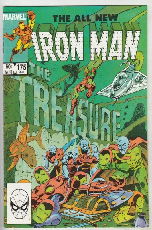 Iron Man #175 (Oct-83) NM Super-High-Grade Iron Man