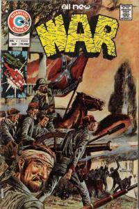 War #2 FN; Charlton | save on shipping - details inside