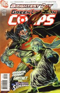 GREEN LANTERN CORPS (2006 DC) #52