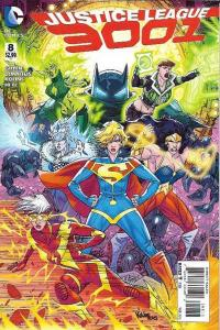 Justice League 3001 #8, NM + (Stock photo)