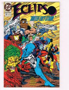 Eclipso #12 VF DC Comics Comic Book Giffen Oct 1993 DE23