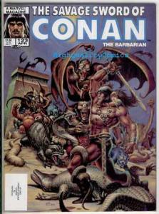 SAVAGE SWORD of CONAN #123, NM, Ernie Chan, Warrior, Demons , more in store