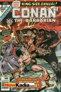Conan the Barbarian (1970 series) Annual #2, Fine (Stock photo)