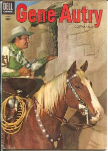 Gene Autry #97 1955 -Dell-photo cover-B-Movie western film star-FN