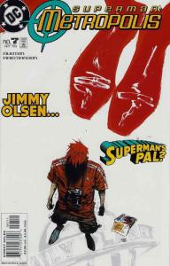 Superman: Metropolis #7 VF/NM; DC | save on shipping - details inside