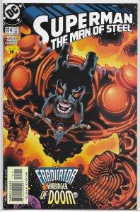 Superman  : Man of Steel   #114 FN/VF S.T.R.I.P.E.
