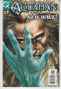 Aquaman(2003) # 1,2,3,4,5,6  Aftermath of JLA's Obsidian Age