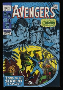 Avengers #73 VF 8.0 Marvel Comics Thor Captain America