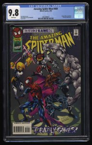 Amazing Spider-Man #409 CGC NM/M 9.8 White Pages