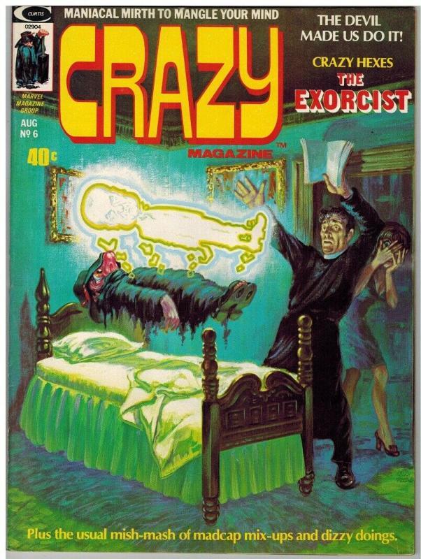 CRAZY (1973) 6 VG Aug. 1974