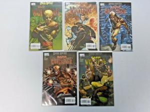 Dark Wolverine run #75 to #79 5 different books 8.0 VF (2009)