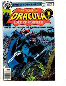Tomb Of Dracula # 68 VF/NM Marvel Comic Book Vampire Monster Horror Fear TD7