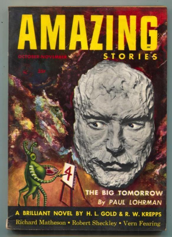 Amazing Stories October 1953- Theodore Sturgeon-Matheson