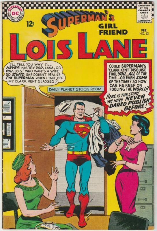 Superman's Girlfriend Lois Lane #63 (Feb-66) NM- High-Grade Lois Lane