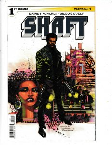 MOVIES BEFORE SUPERFLY, THERE WAS SHAFT #1 VF/FN  DYNAMITE  COMICS