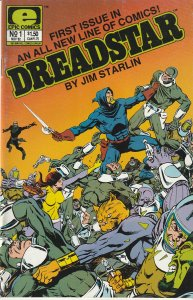 Dreadstar(Epic)# 1 Thanos/Infinity War creator, Jim Starlin's Space Opera