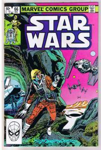 STAR WARS #66, VF, Luke Skywalker,Darth Vader, 1977, more SW in store