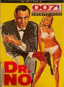 007 JAMES BOND MAGAZINE ARCHIVE FILES-DR.NO-FILE#1 NM.