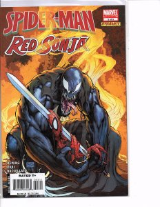 Marvel/Dynamite Comics Spider-Man / Red Sonja #3 Venom Michael Turner Cover