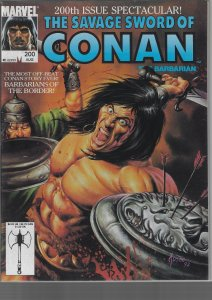 Savage Sword of Conan #200 (Marvel, 1992)